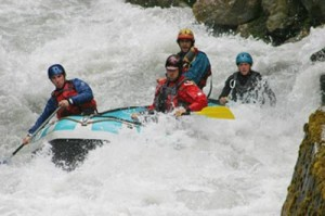 Rafting on the Doron de Bozel