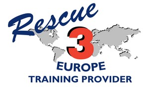 Rescue 3 Europe Training Provider Logo - white