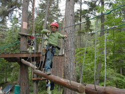 Child Adventure Assault Course - Franceraft